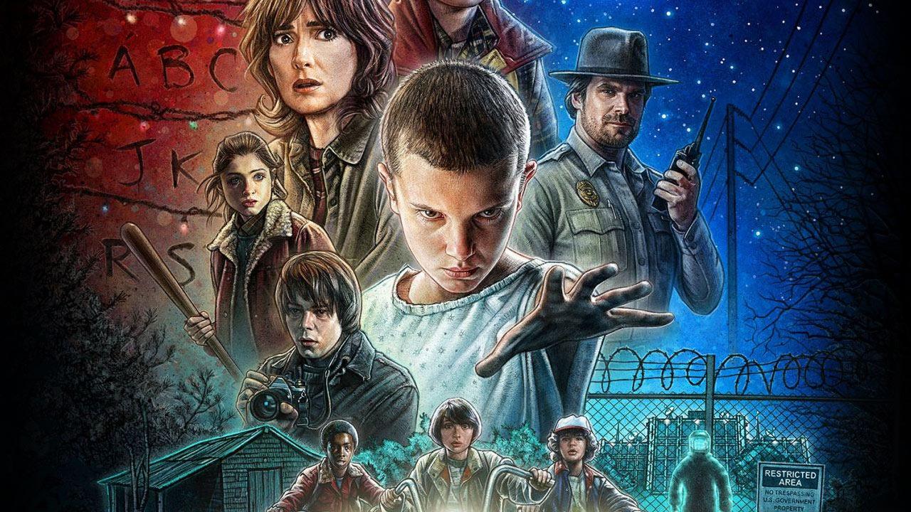 En Çok İzlenen 10 Netflix Dizisi. Stranger Things dizisi.