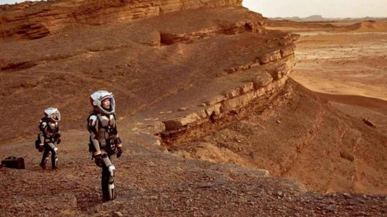 Mars, Uzay Aracı Kurumuş Bir Göle İnecek