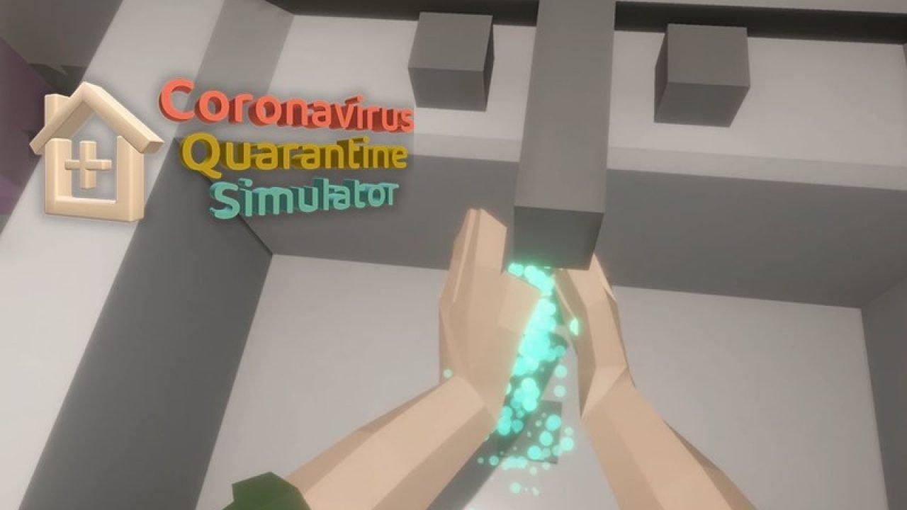 Coronavirus Quarantine Simulator Yayınlandı