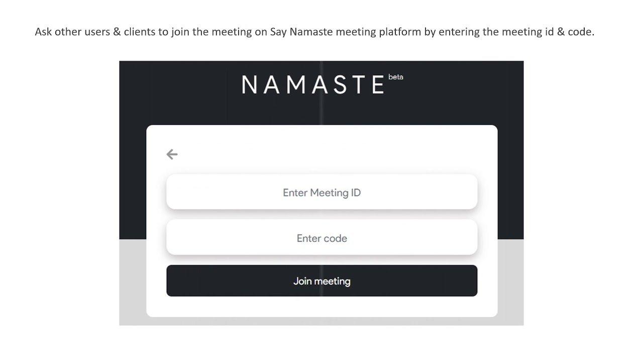 Zoom alternatif uygulama: Say Namaste neler sunuyor?