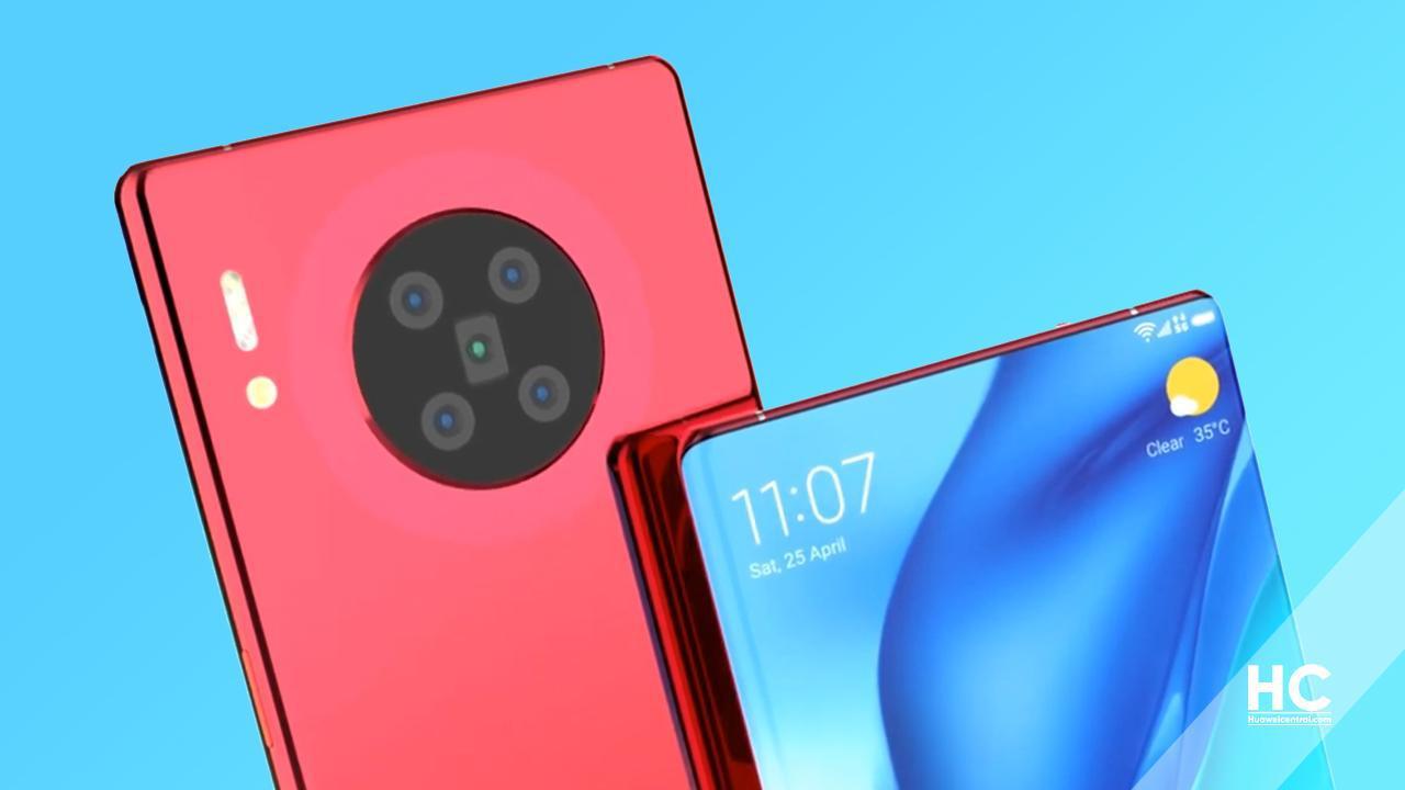 Huawei Mate 40 Pro kamera tasarımı