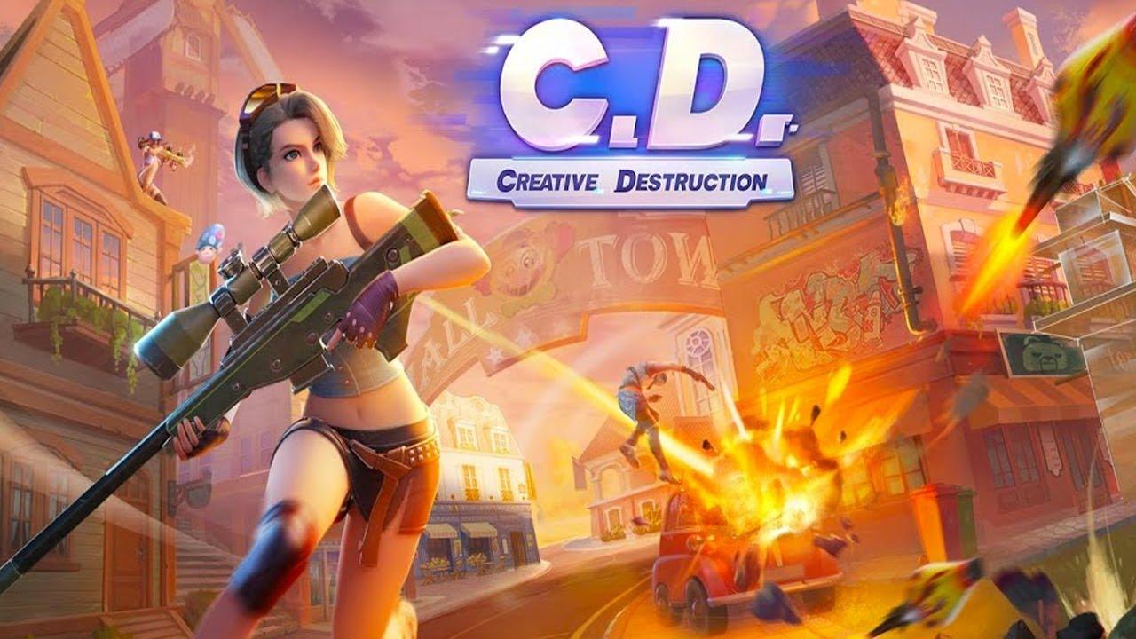 Creative Destruction - Pubg benzeri mobil oyunlar
