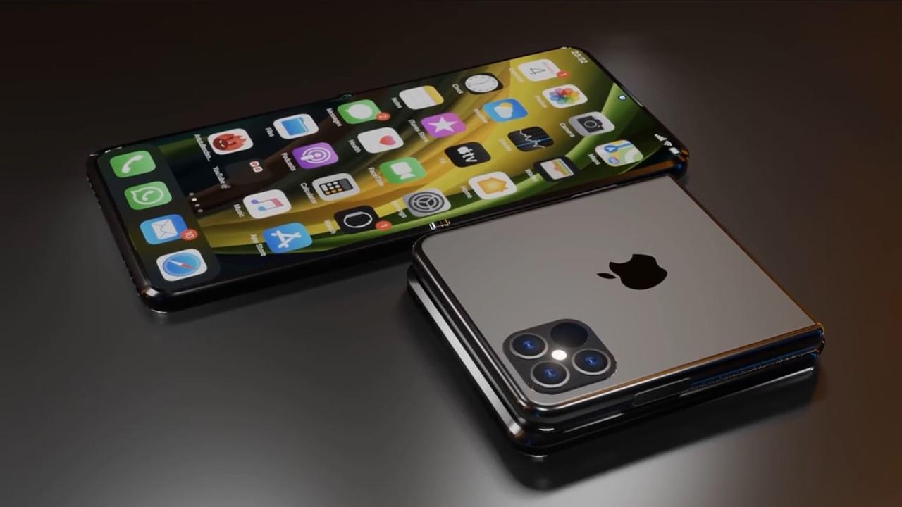 Katlanabilir iPhone için patent