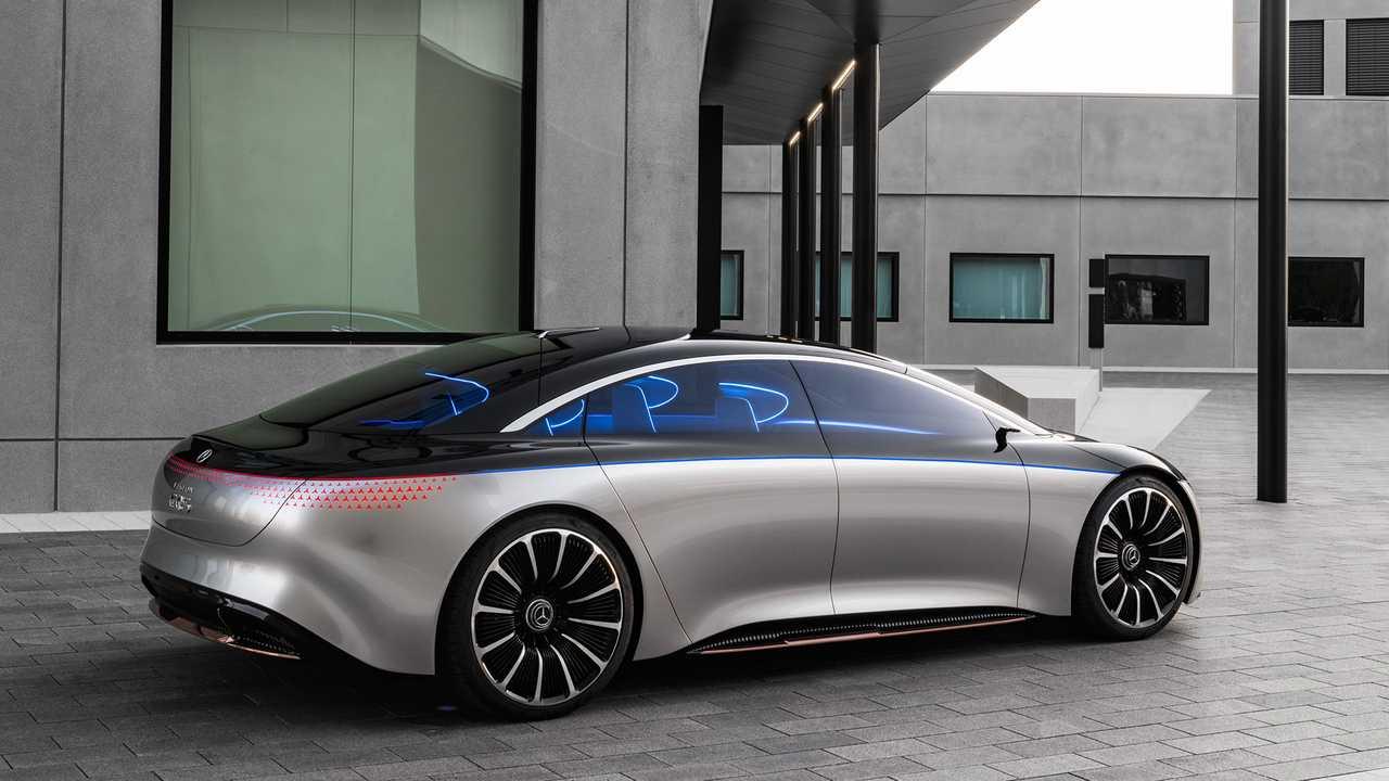 Mercedes Süper Elektrikli Otomobil Modeli