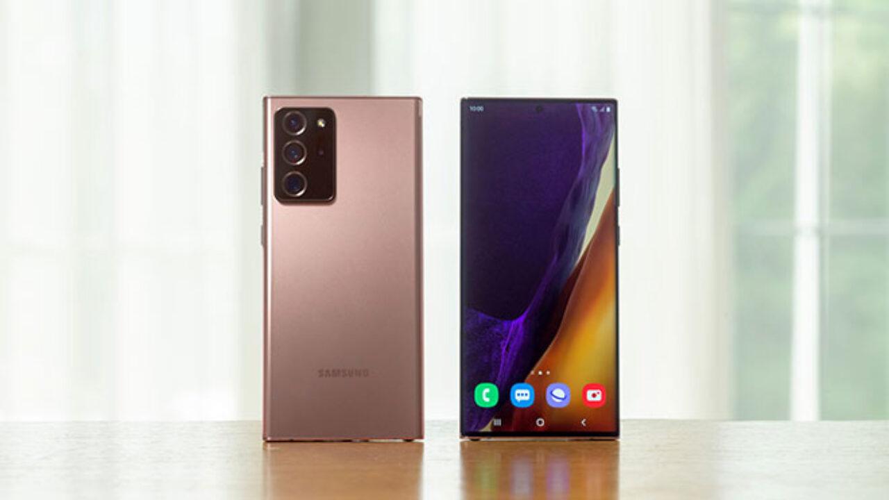 Samsung Galaxy Note 20 Ultra Ekim 2020