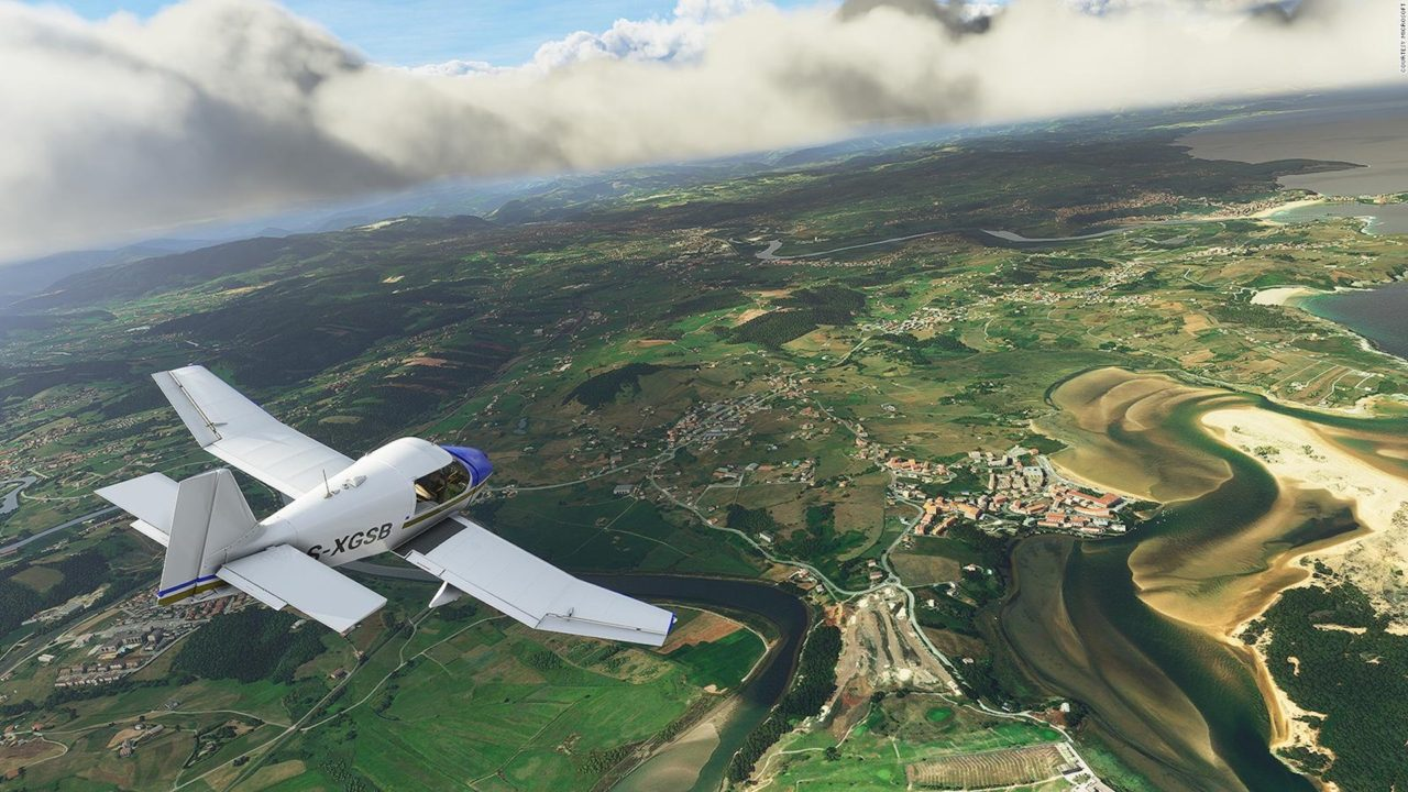 Microsoft Flight Simulator VR Beta