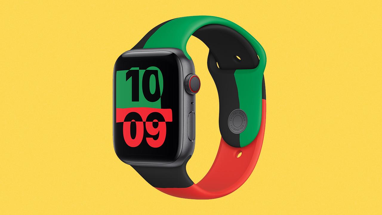 Apple Watch Series 6 Black Unity duyuruldu