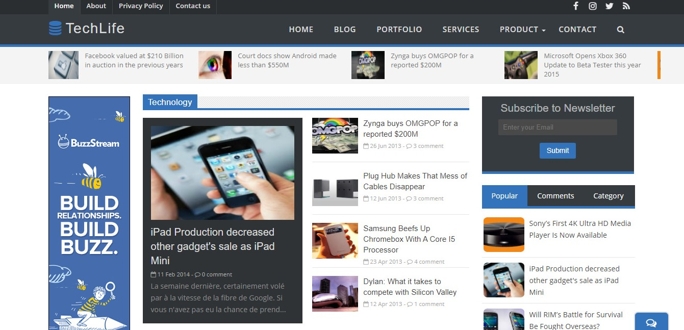 Seo uyumlu ücretsiz blogger teması