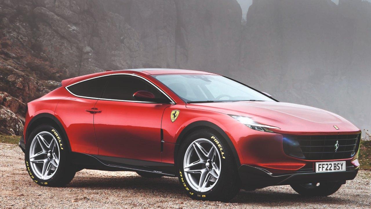 Ferrari SUV Modeli İle Gündemde! F244 ve F245