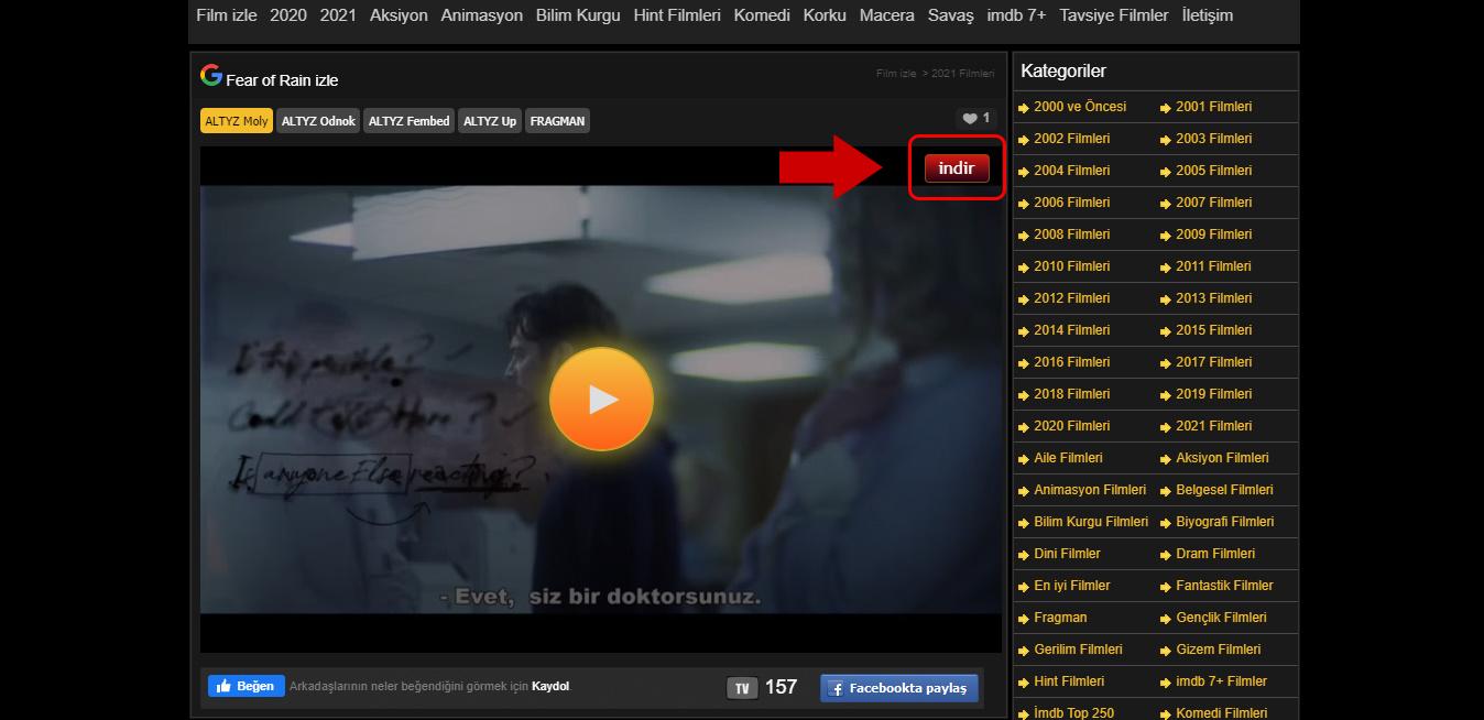 Ücretsiz Film ve Dizi İndirme. 720p izlemek.