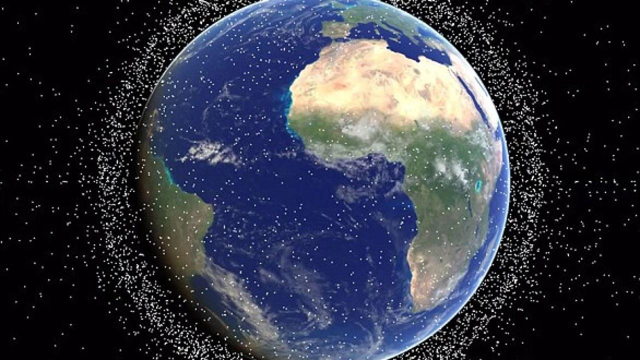 Uzay çöpleri Dünya'yı ısıtıyor