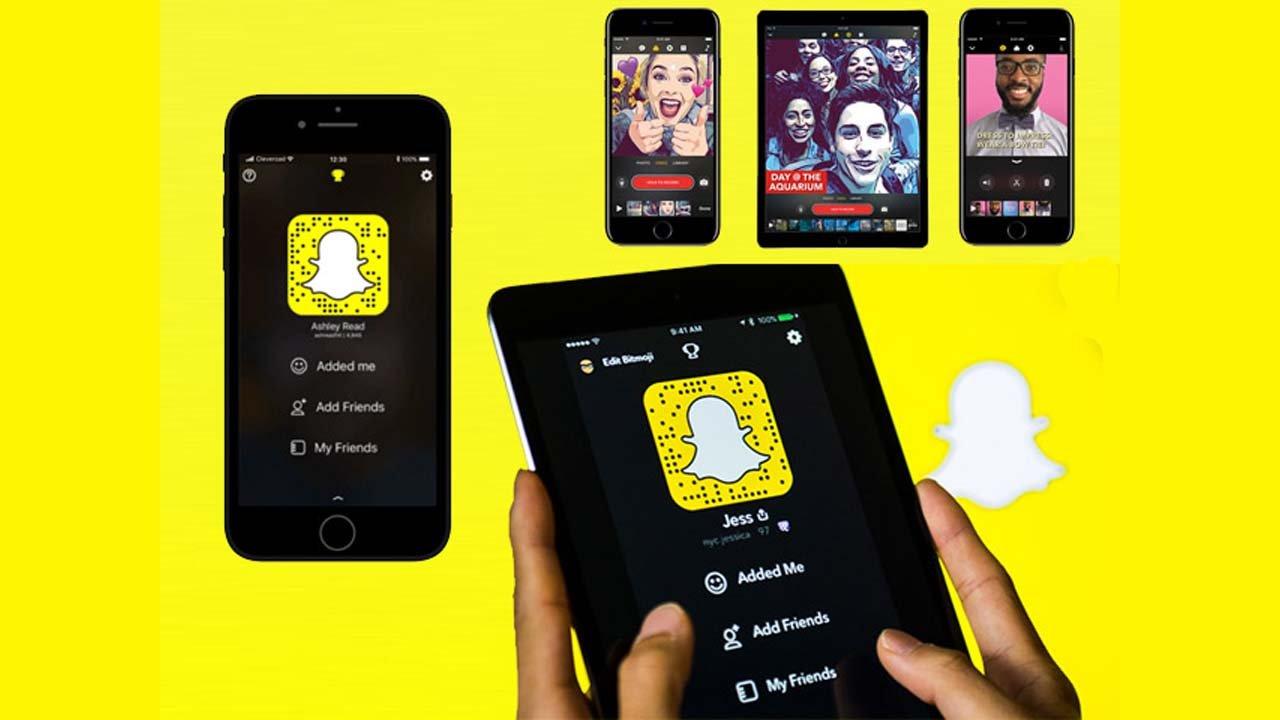 Snapchat iOS İçin Yeni Özellik Sundu! Karanlık Mod Geldi