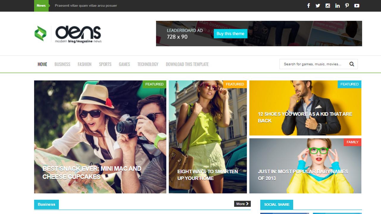 Dens Blogger Teması
