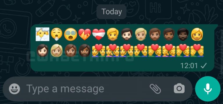 Android için Yeni WhatsApp Emojileri! İşte Detaylar