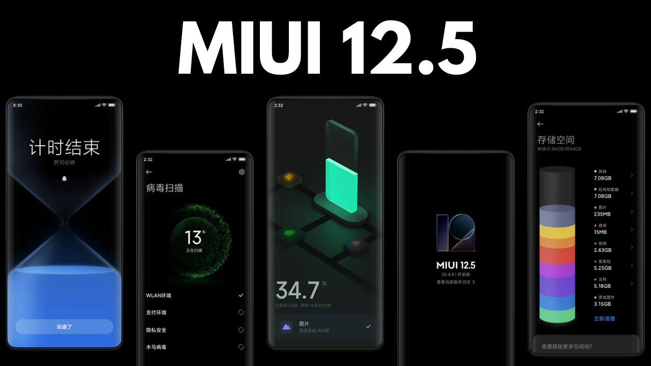 Hangi Yeni Redmi Modelleri MIUI 12.5 Güncellemesi Alacak