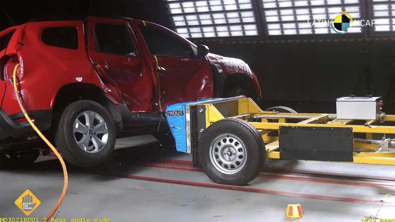 Renault Duster Çarpışma Testleri